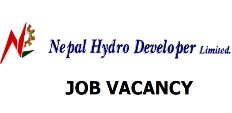 Vacancy Notice from Nepal Hydro Developer Limited